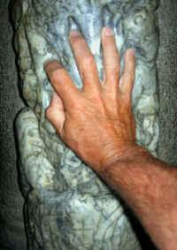 ma main comme dans la grotte de Niaux