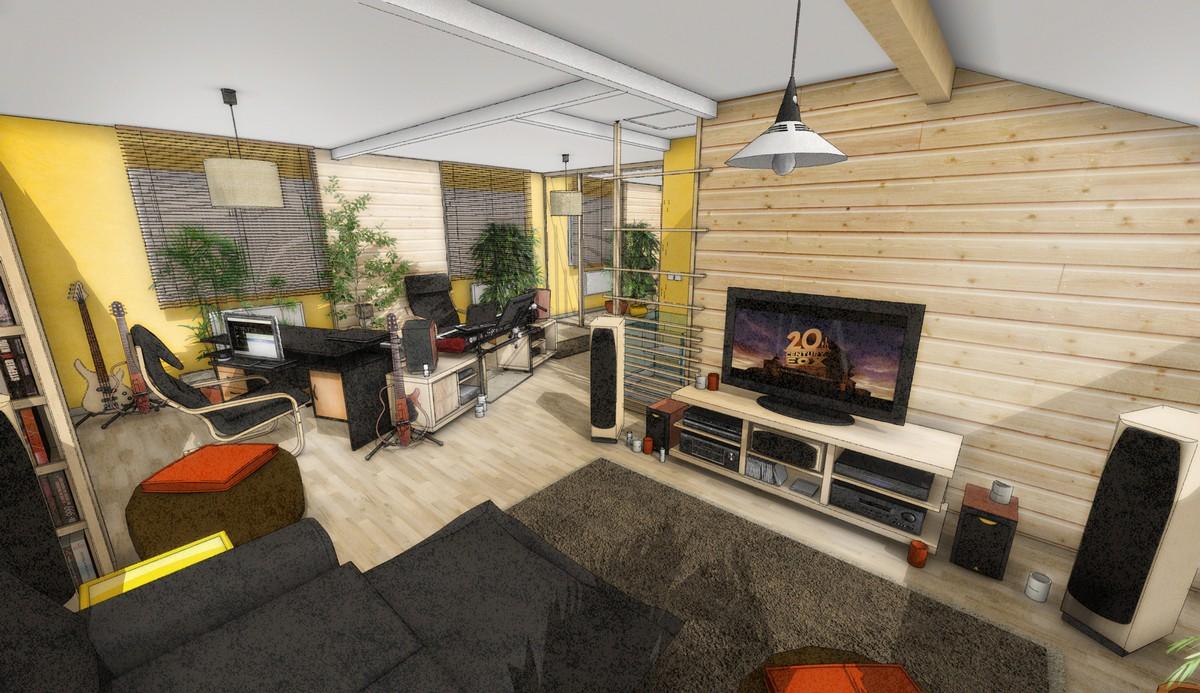 faire son meuble de home studio page 11. Black Bedroom Furniture Sets. Home Design Ideas